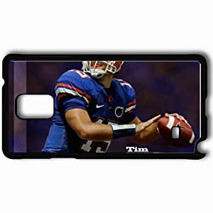 Personalized Samsung Note 4 Cell phone Case/Cover Skin 14592 Tim Tebow by Teedubya05 Black by mcsharks