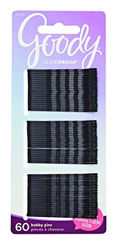 Goody Slide Proof Bobby Pins 6 Pack 360 Bobby hair Pins NEW Brown 2 Inches