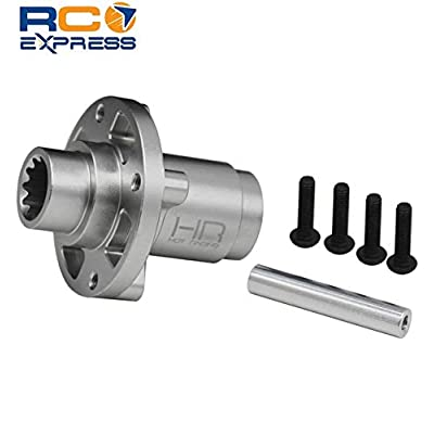 Hot Racing XMX51PE Aluminum Center Differential Locker Spool, for X-Maxx 8cell: Toys & Games