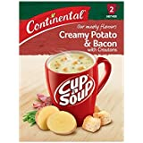 Continental Cup-A-Soup Creamy Potato & Bacon With Croutons 2 pack 50g