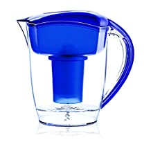 Santevia Water Systems Alkaline Water Pitcher (Blue)