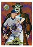 jack mcdowell - Autograph Warehouse 61272 Jack Mcdowell Autographed Baseball Card New York Yankees 1996 Topps Stadium Club No. Mh6 Black Jack