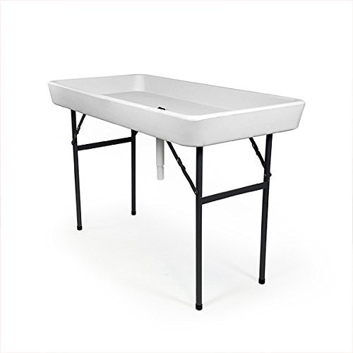 Cheap RecPro 4 Foot Cooler Ice Party Table