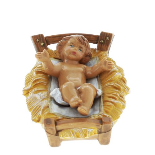"Fontanini 2.75"" Long Baby Jesus Religious Christmas Nativity Figurine (Part of 5"" Collection)"