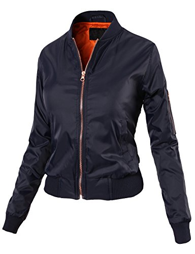H2H Womens Casual Quilted Bomber