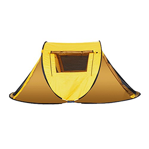 Cheap 2 Person Instant Automatic Pop Up Cabin Tent Water Rain Proof by VITCHELO – Ultralight Quick Easy Set Up Dome Tents with 2 Doors Windows Mosquito Netting for Kids Adults at Outdoor Camping Backpacking