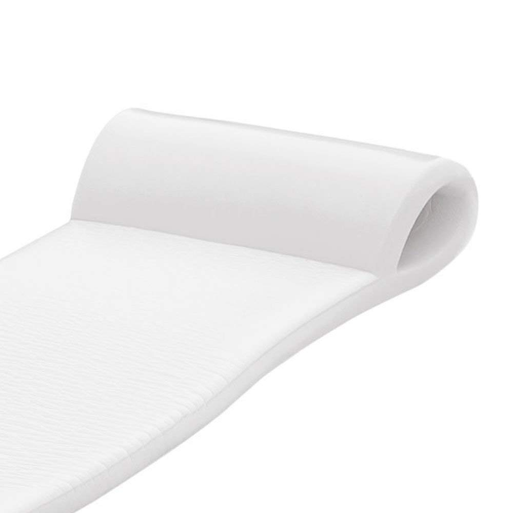 TRC Recreation Sunsation 70 Inch Thick Foam Raft Lounger Mat Pool Float, White (2 Pack) by TRC Recreation (Image #5)