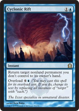 Magic: the Gathering - Cyclonic Rift (35) - Return to Ravnica by Magic: the Gathering