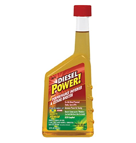 Diesel Power! 15211-6PK Performance Improver and Cetane Booster, (Pack of 6)