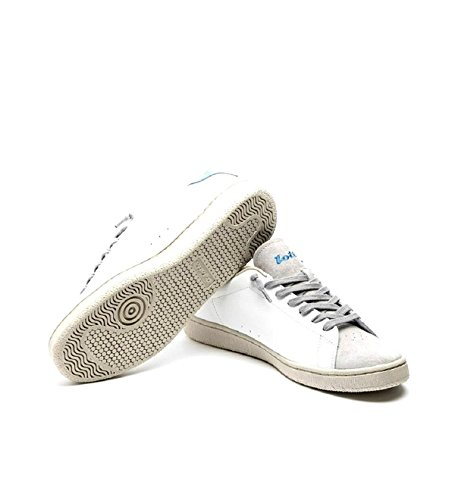 Lotto SS Sneakers Front 18 Uomo Blu White T4560 Pelle 44 Autograph rZgrPW