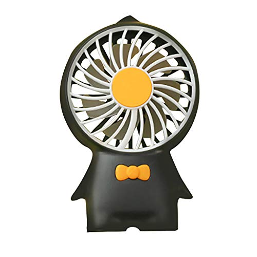 Weiliru Mini Portable Dormitory Bed Mute Hand Portable Desktop Home Office Desktop Fan Portable Colling Air Conditioner ()