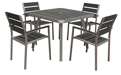 Boraam Polylumber 5-Piece Canaria Dining Set