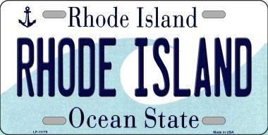 License Plate Rhode State Island (Bargain World Rhode Island State License Plate Novelty License Plate (Sticky Notes))