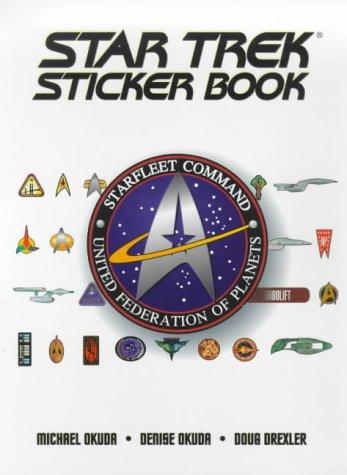 The Star Trek Sticker Book Star Trek Stickers