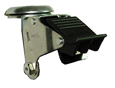 Colson 2 Series Total Lock Brake for 5 Swivel Casters with Thermoplastic Pedal Model: Colson 2 Series