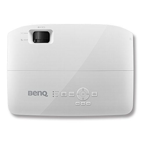 BenQ MW526AE 1080p Supported WXGA 3300 Lumens HDMI Vibrant DLP Color Projector for Home and Office