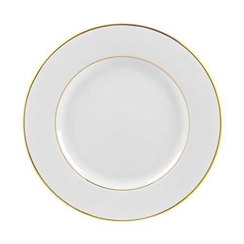 Ten Strawberry Street Double Gold Line - 10.25 Inch Dinner P