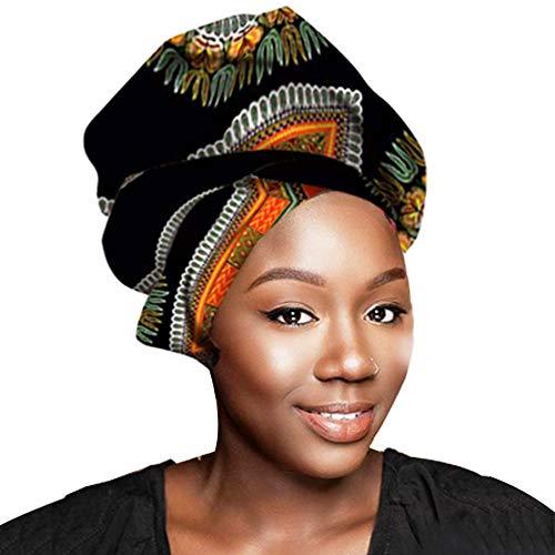 African Head Wraps 45x36 African Wax Print Head Scarf Tie for Black Women