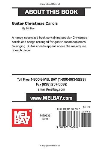 Mel Bay Guitar Christmas Carols: Bill Bay: 9780871667267: Amazon.com ...