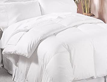 Full Size(double Bed) White Goose Down Comforter 500 Thread Count 750 Fill  Power