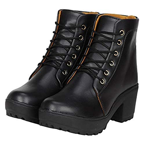 Commander: Latest Women's Leather Ankle Boots