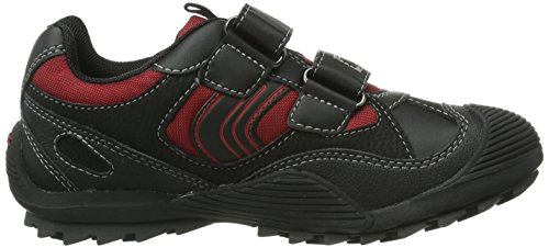 Geox Junior Savage C Navy Textile Negro - Noir (Black/Red)
