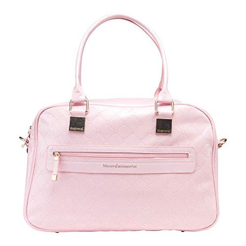 Bolso y Portachupete MAYORAL Charol Color Rosa