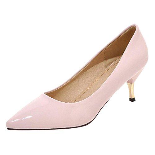 Mode Escarpins Pink Pointu JOJONUNU Femmes 1qUH6WaFzw