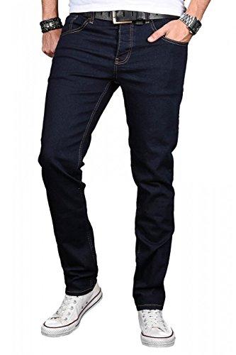 Uomo Basic Jeans Blu Alessandro Attillata Denim Salvarini IUPwBqcA