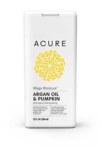 ACURE Mega Moisture Shampoo, Argan, 12 Fl. Oz. (Packaging May Vary)