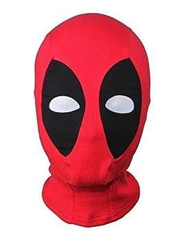 ALIEN máscara roja, disfraz 1 tamaño Senior, cómodo histriónico extraterrestres pasamontañas máscara Cosplay tela