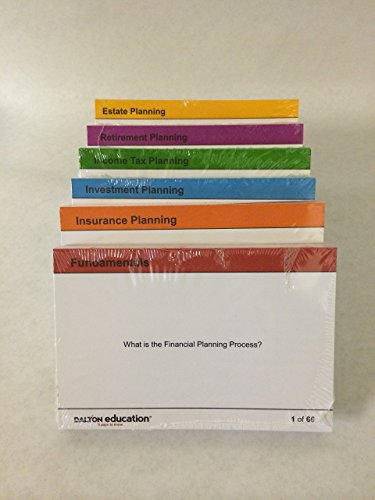 2018 Dalton Education Flashcards for the CFP Certification Examination Only
