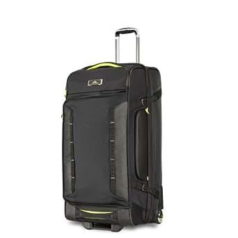 High Sierra 67927 Travel Duffle, Black/Zest, 81 Centimeters