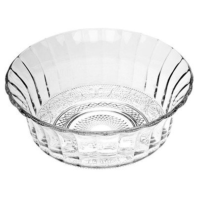 Fluted Sugar Bowl - Renaissance Large Salad Bowl