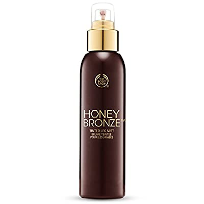 The Body Shop Tinted Leg Mist, Honey Bronze, 3.3 Fluid Ounce