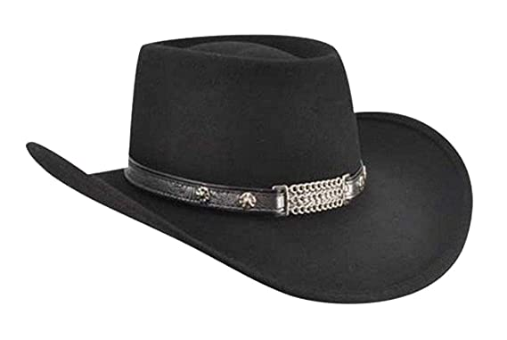 4ae60a3fbc3dec Bailey Western Mens Little Joe Cowboy Hats, Black - XS at Amazon ...