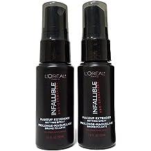 L'Oreal Paris Infallible Pro Makeup Extender Setting Spray, Travel size 30 ml/1.0 fluid ounce (2-pack)