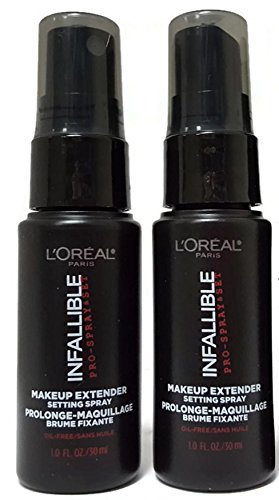 new arrival 81167 2ff7f Amazon.com  LOreal Paris Infallible Pro Makeup Extender Setting Spray,  Travel size 30 ml1.0 fluid ounce (2-pack)  Beauty