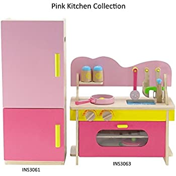 playtime by eimmie 18 inch doll furniture kitchen set w refrigerator and. Black Bedroom Furniture Sets. Home Design Ideas