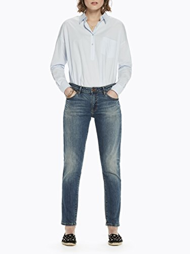 Scotch amp; Soda Damen Straight Jeans Petit AmiSelf Service Blau ...