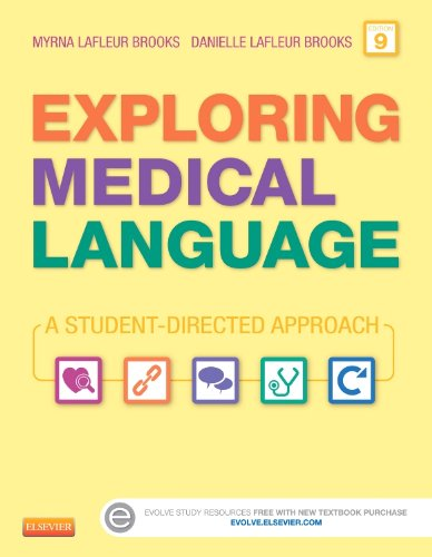 Exploring Medical Language - Text and Audio CDs Package: A Student-Directed Approach, 9e by Brand: Mosby