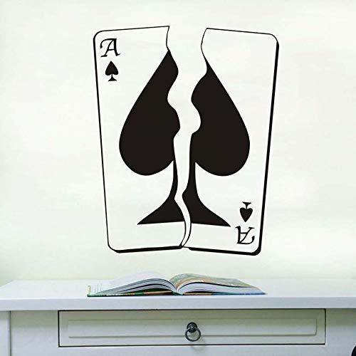 BailongXiao Tarjeta de Juego Ace calcomanía de Pared Pegatina de ...