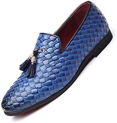 Parcclle Zapatos de negocios para hombre con cordones 375
