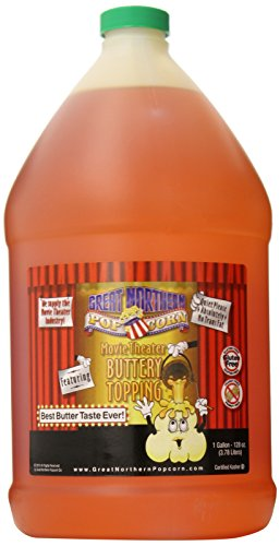 8900 Great Northern Popcorn Premium Movie Theater Butter Topping, Gallon ()