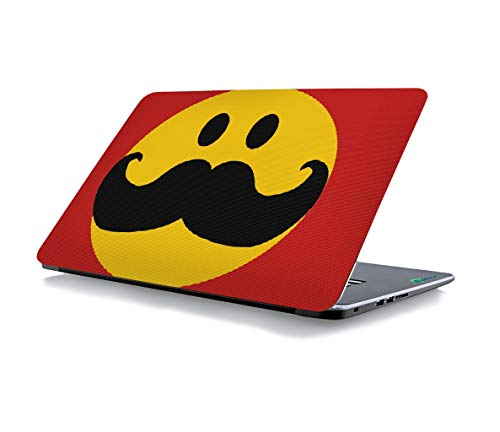 RADANYA Moustache Laptop Skin Sticker Cover Fits for All Models for Screen Size Dimensions - 15 x 10 Inches]()