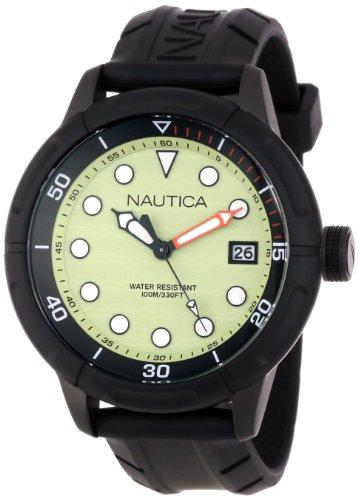 Nautica Unisex N17618G NMX 601 Classic Analog with Enamel Bezel Watch