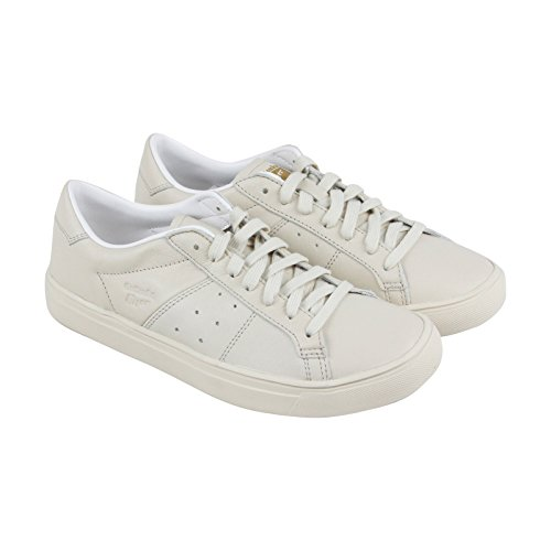 Tiger Leather Sneakers (Onitsuka Tiger Lawnship 2.0 Mens Beige Leather Lace Up Sneakers Shoes 7)