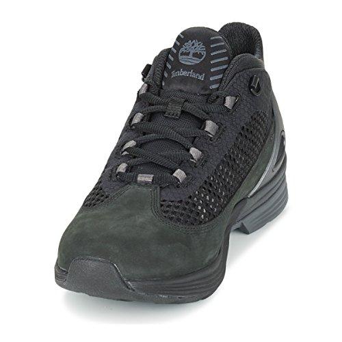 Timberland Herren Schwarz Woodlands Kenetic Leather Stiefel Black