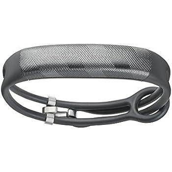 Jawbone JL03-6363CFI-US UP2 Lightweight Thin Straps Fitness Tracker for Universal Smartphones - Gunmetal