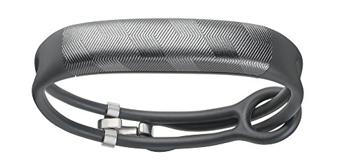 UP2 by Jawbone Activity + Sleep Tracker, Gunmetal Hex (Dark Gray), Lightweight Thin Straps